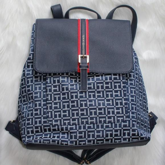 Tommy Hilfiger Logo Womens Backpack Bag